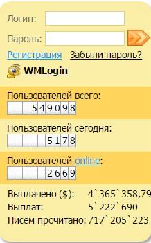 Wmmail - заработок денег